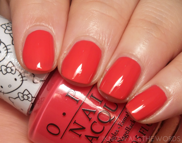 Hello Kitty collection by OPI Spoken From the Heart