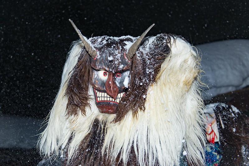 Tschäggättä mask 3 - Blatten
