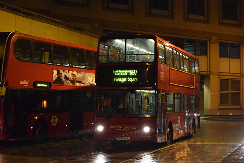 London United TLA28 on Route N97, Hammersmith Bus Station