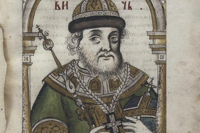 Boris Godunov from Titulyarnik, between 1691 and 1697