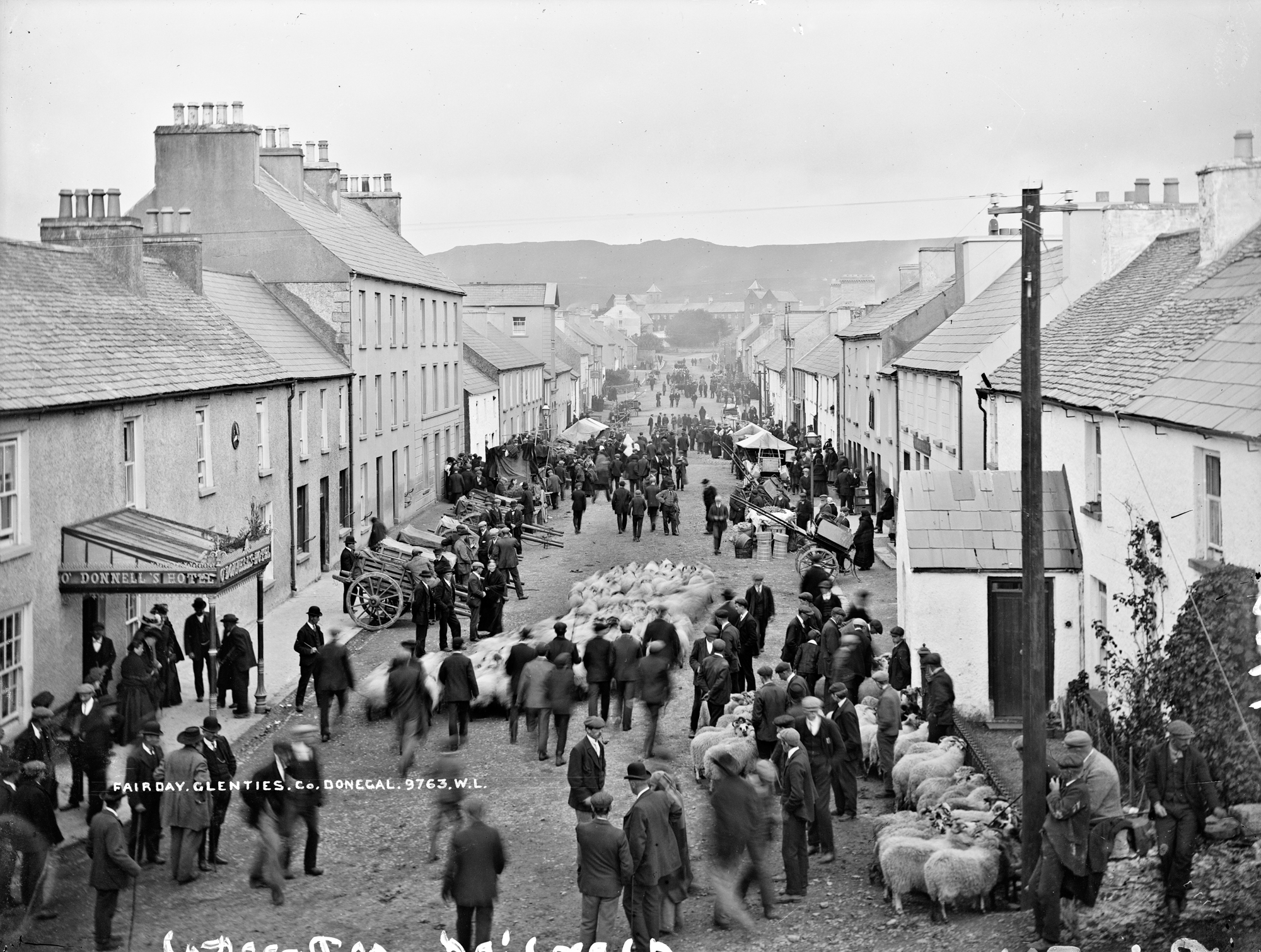 Fair Day, Glenties, Co. Donegal