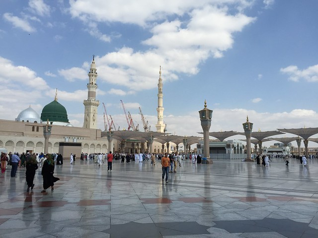 Header of Al-Masjid An-Nabawi