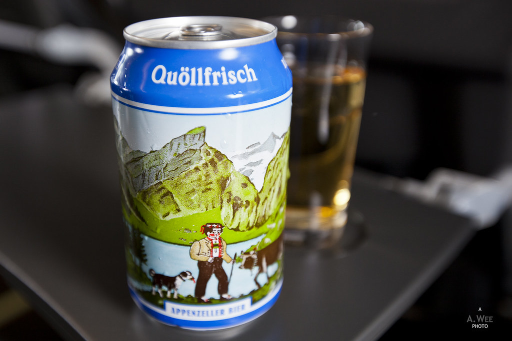 Can of Swiss Beer