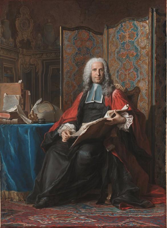 Maurice-Quentin de La Tour - Portrait of Gabriel Bernard de Rieux (c.1740)