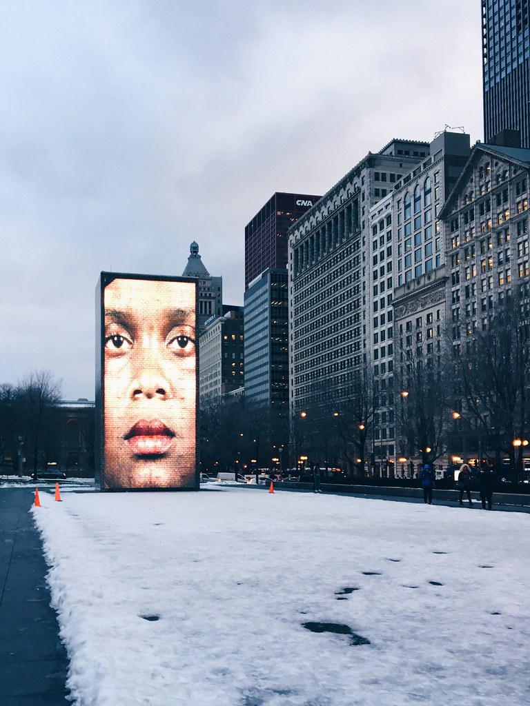 Chicago Faces - Crown Fountain