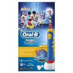 Cepillo eléctrico Mickey Mouse para niños