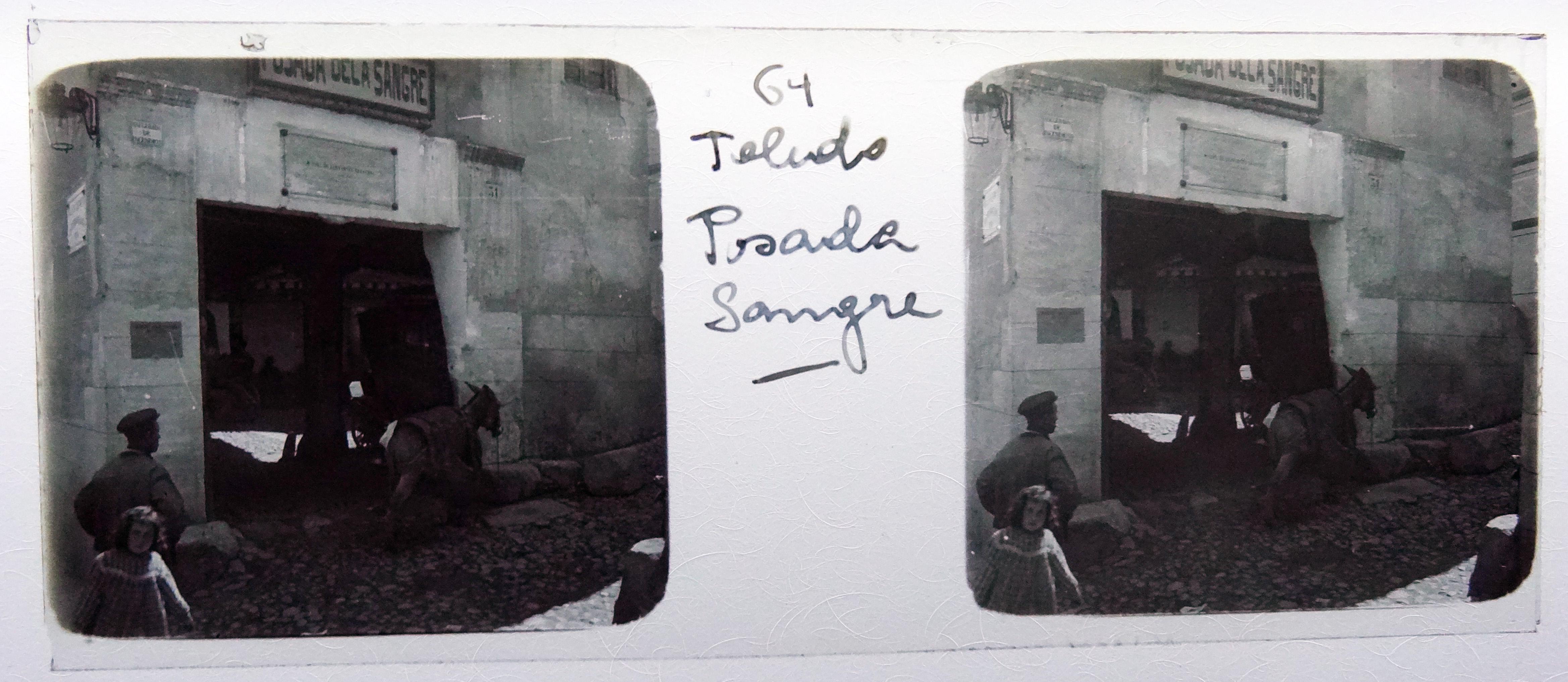Posada de la Sangre. Fotografía de Francisco Rodríguez Avial hacia 1910 © Herederos de Francisco Rodríguez Avial