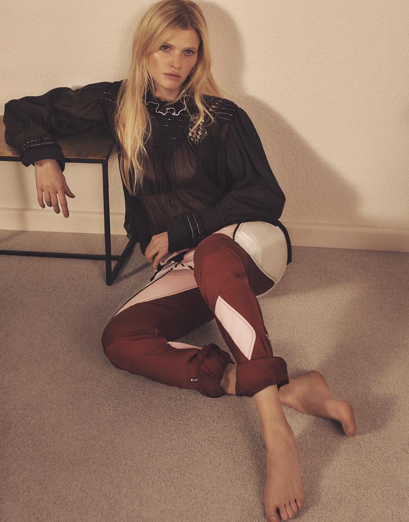 Лара Стоун — Фотосессия для «Vogue» KR 2016 – 1