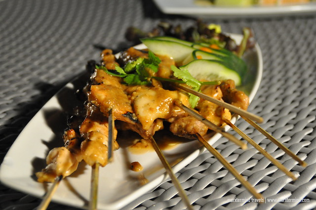 Sate Sample Dinner at Ferra Hotel Boracay