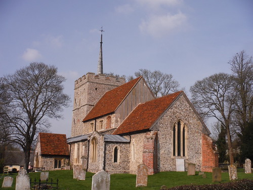 St. Mary the Virgin, Wendens Ambo (with Hertfordshire spike)