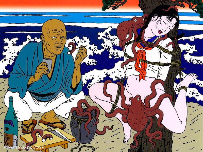 日本病態暴力美學教父—佐伯俊男的情色烏托邦1