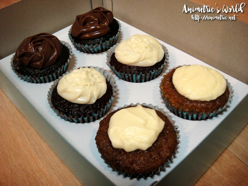 Amores Gluten-Free Cupcakes