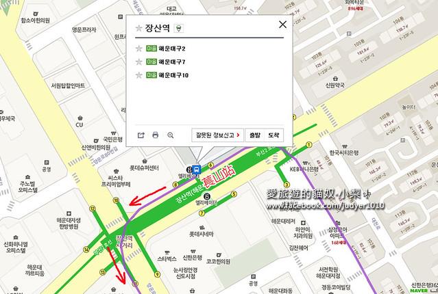 萇山站地圖