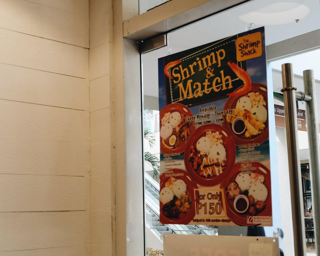 shrimp shack robinsons antipolo