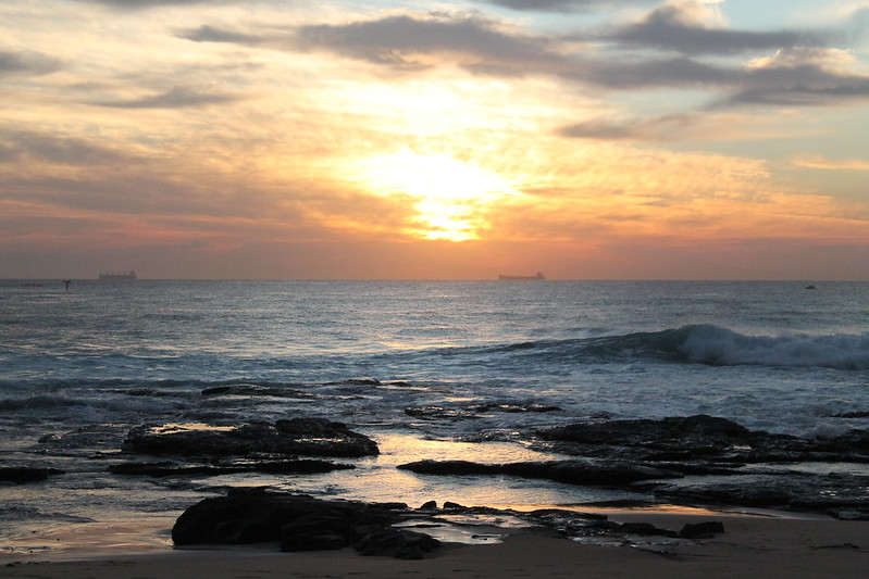 Sun rise in Wollongong