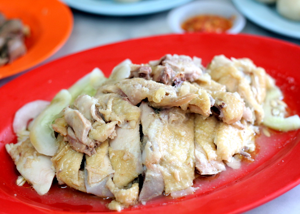 Malacca Food Guide: Chung Wah Chicken Rice Balls