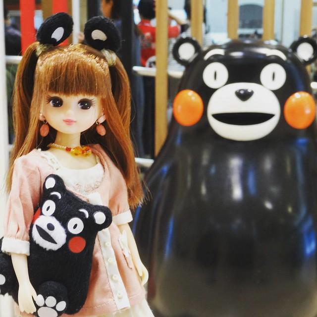 #リカちゃん #ドール #熊本 #くまモン #doll #dolly #liccachan #liccadoll #kumamoto #kumamon