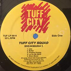 TUFF CITY SQUAD:BREAKMANIA 5(LABEL SIDE-A)
