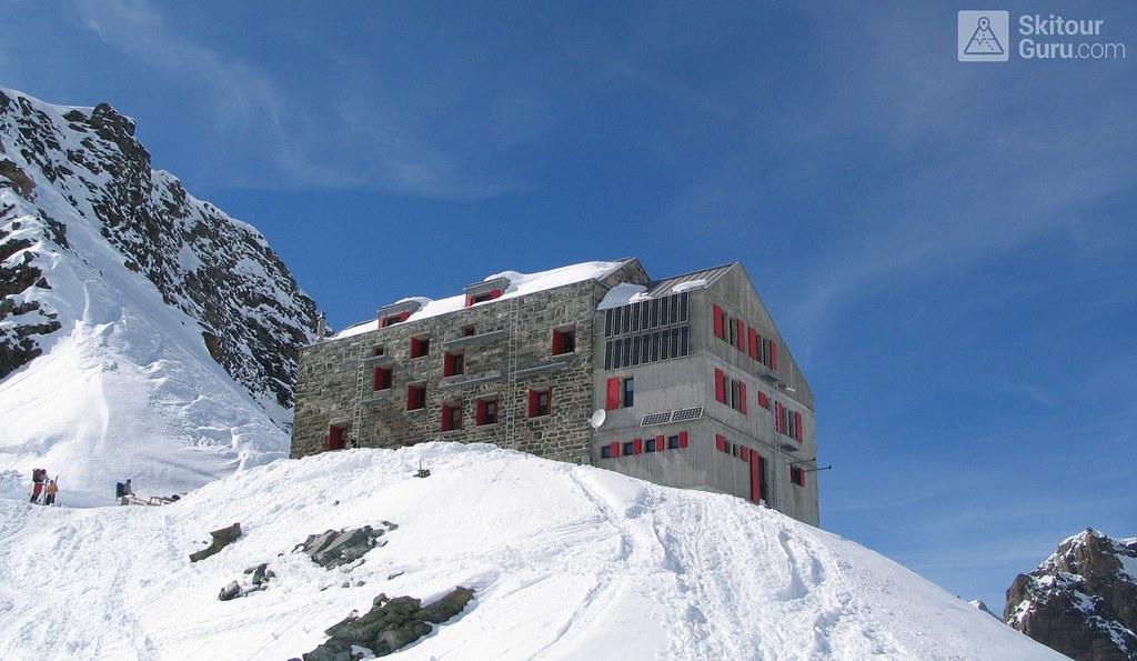 Britannia Hütte Walliser Alpen / Alpes valaisannes Switzerland photo 03