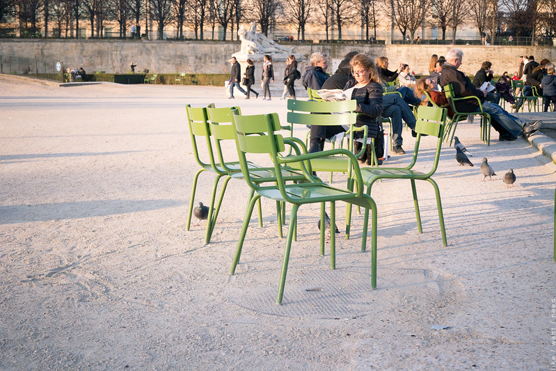 Light, Tuileries