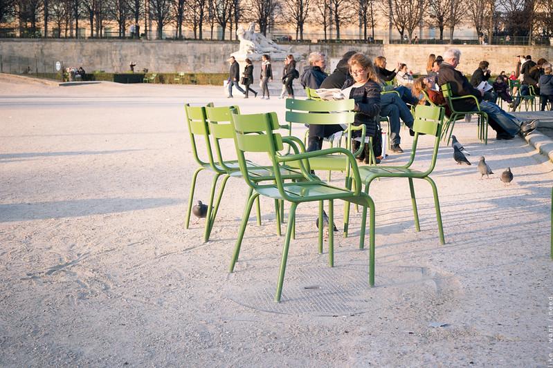Light, Tuileries