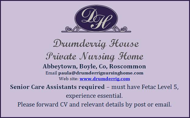 Drumderrig Care Assistants