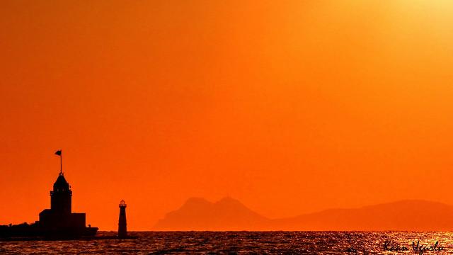 sunset in yalıkavak