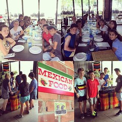 Mexican food with my mentor group on manic Monday. #burp #Nom #7pgu #uwcsea_east #love