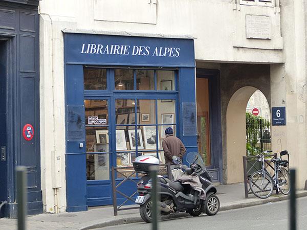 librairie des alpes