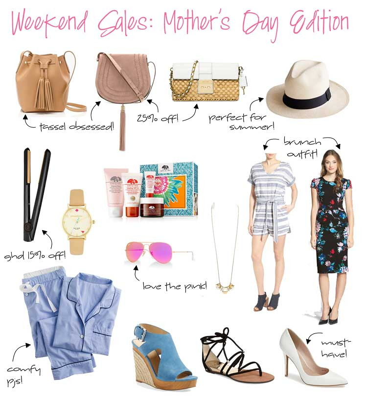 weekend sales: mother's day edition