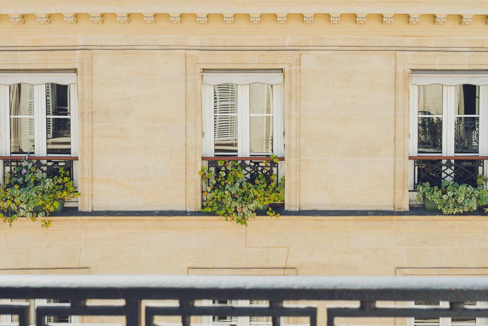 balcony view sweet inn ponthieu I Paris apartment