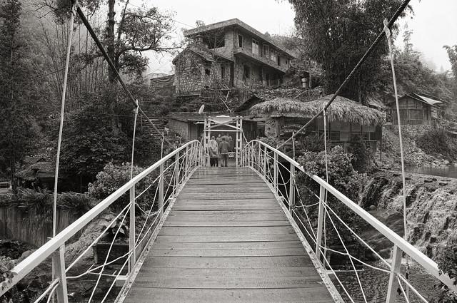 The bridge at Cat Cat village