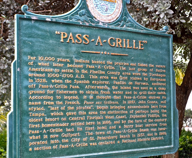 Pass-a-grille historic town, st. petersburg, florida