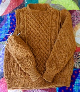 Sweater Progress