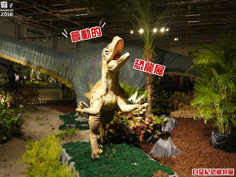 【熱血採訪】白堊紀恐龍特展,恐龍好逼真阿~會動又會叫~
