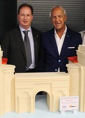 Il presidente della Fiera Patroni-Griffi e il prof. Onofrio Resta (foto Nicola Teofilo)
