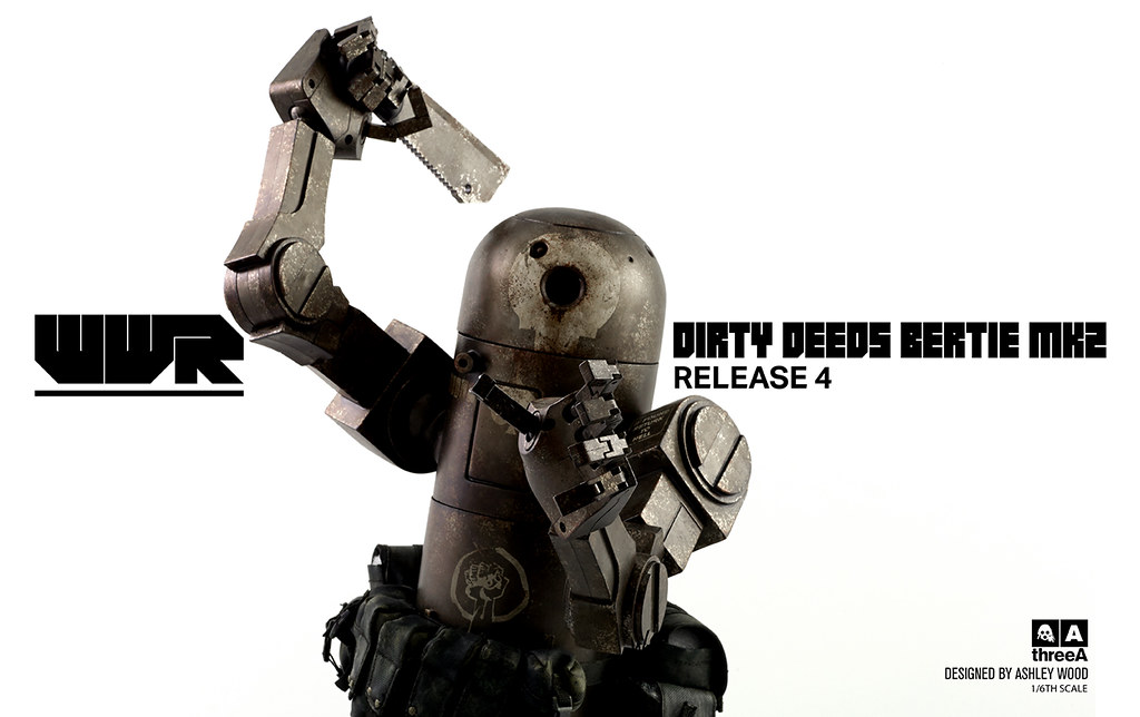 threeA –【DIRTY DEEDS V2 BERTIE MK2】WWR 系列 1/6 比例 第四彈