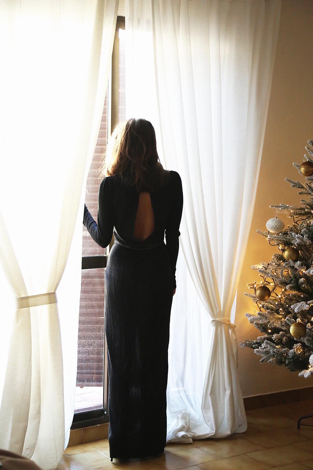 majorica joyas black long dress - jessie chanes 4
