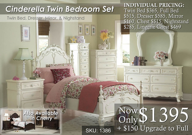 Cinderella Bed Set