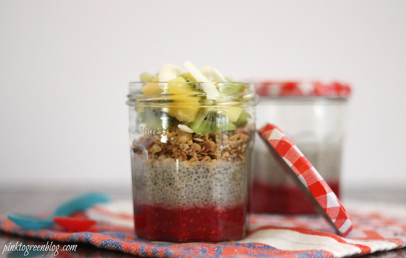 Breakfast Parfait with chia