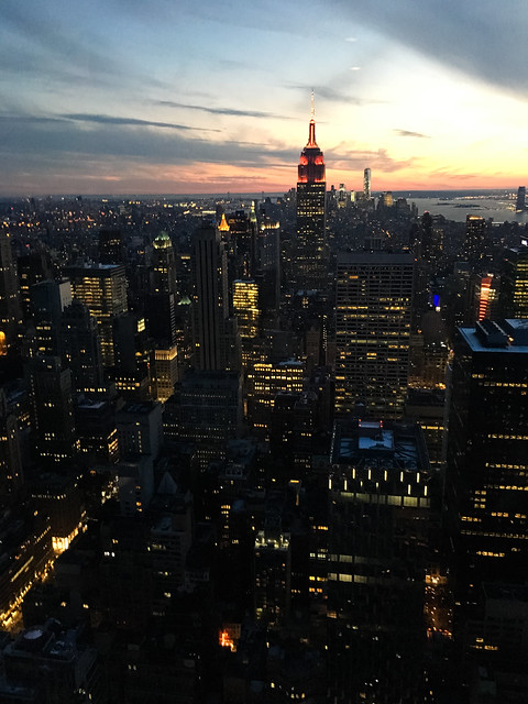 Sunset from Top of the Rock