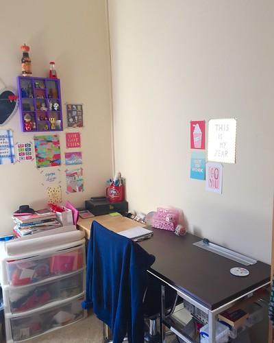 de-cluttering - workspace