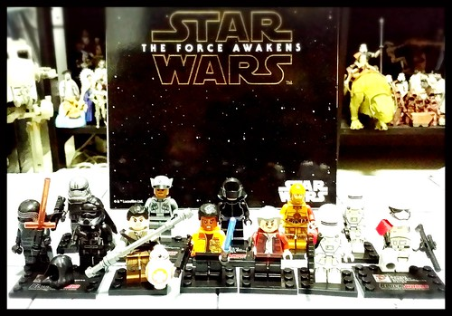 Star Wars The Force Awakens not-Lego minifigures