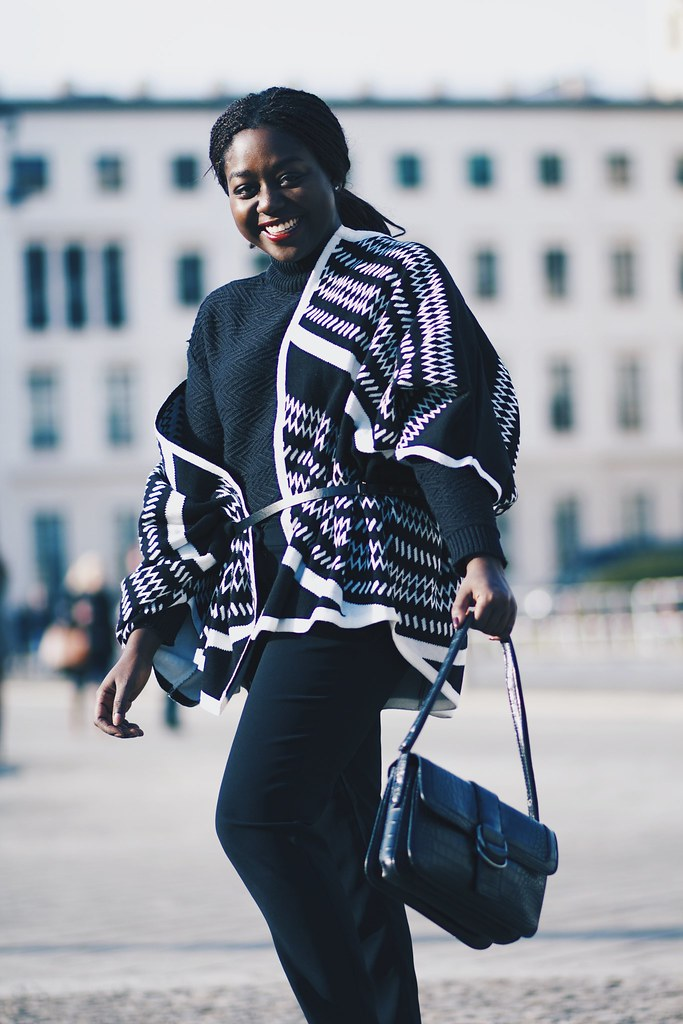 Lois Opoku fashion Week Streetstyle Winter lisforlois