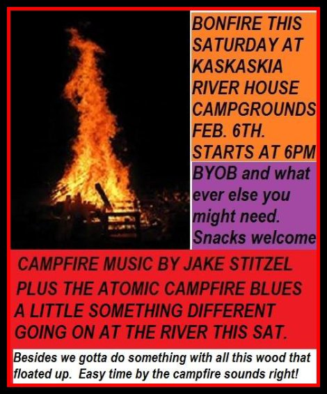 Bonfire at Campgrounds 2-6-16
