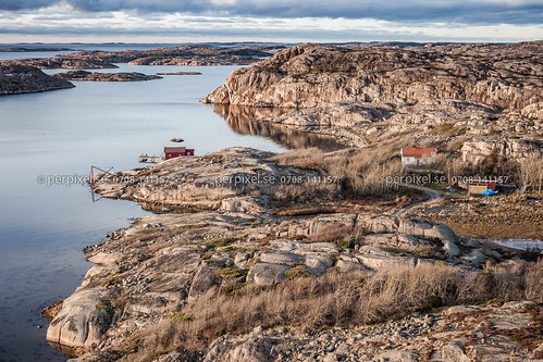 natur sverige swe västragötaland bovallstrand flygfoto