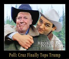 Poll: Cruz Finally Tops Trump
