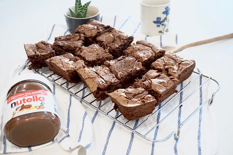 katecooks, nutella, nutella brownies, nutella brownie recipe, chocolate brownies, chocolate brownie recipe, baking, simple baking, easy brownie recipe, easy cooking, easy meals,