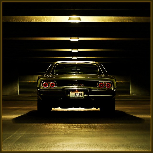 1968 Dodge Charger R/T - It's the Tail lights