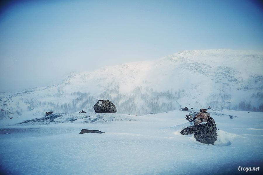 2016.02.23▐ 看我歐行腿 ▐ 阿呀~一不小心就從瑞典到了挪威, Narvik 小鎮遇見地理課本中的峽灣 11.jpg